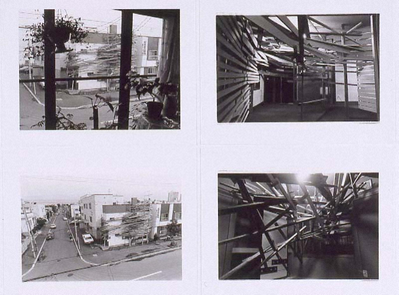 """PROJECT""""TETRA HOUSE N-3 W-26"""" SAPPORO 1983 「Photo Document 8」"""