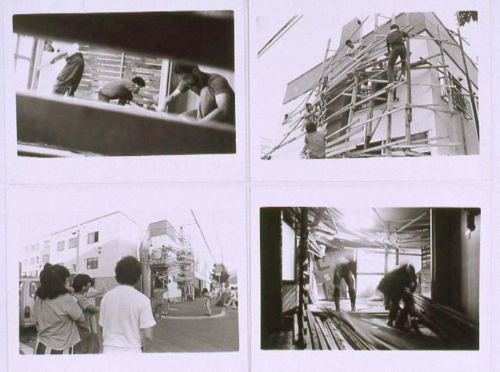 """PROJECT""""TETRA HOUSE N-3 W-26""""SAPPORO 1983「Photo Document 3」"""