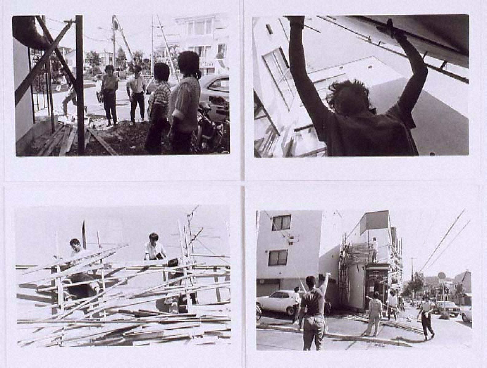 """PROJECT""""TETRA HOUSE N-3 W-26""""SAPPORO 1983 「Photo Document 2」"""