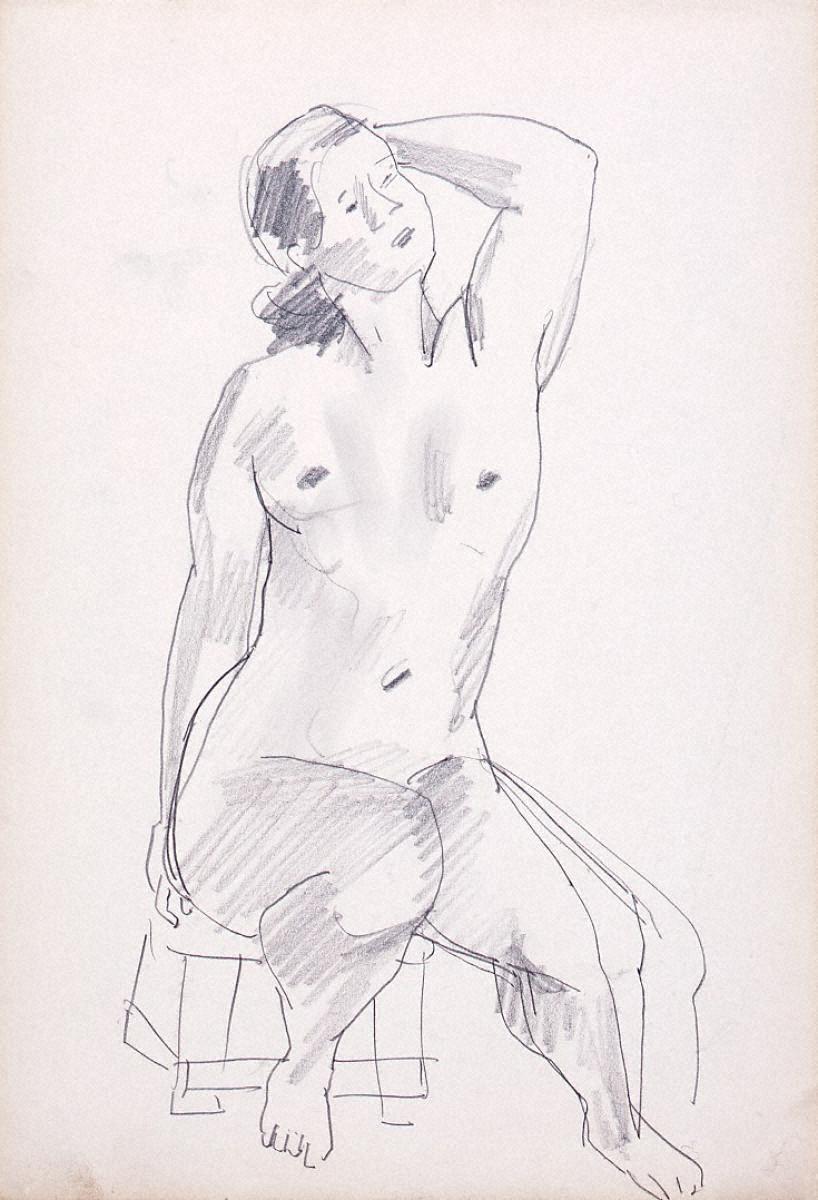 裸婦デッサン 2
