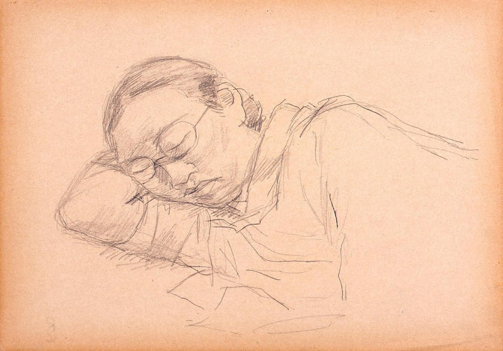 眠る人 4