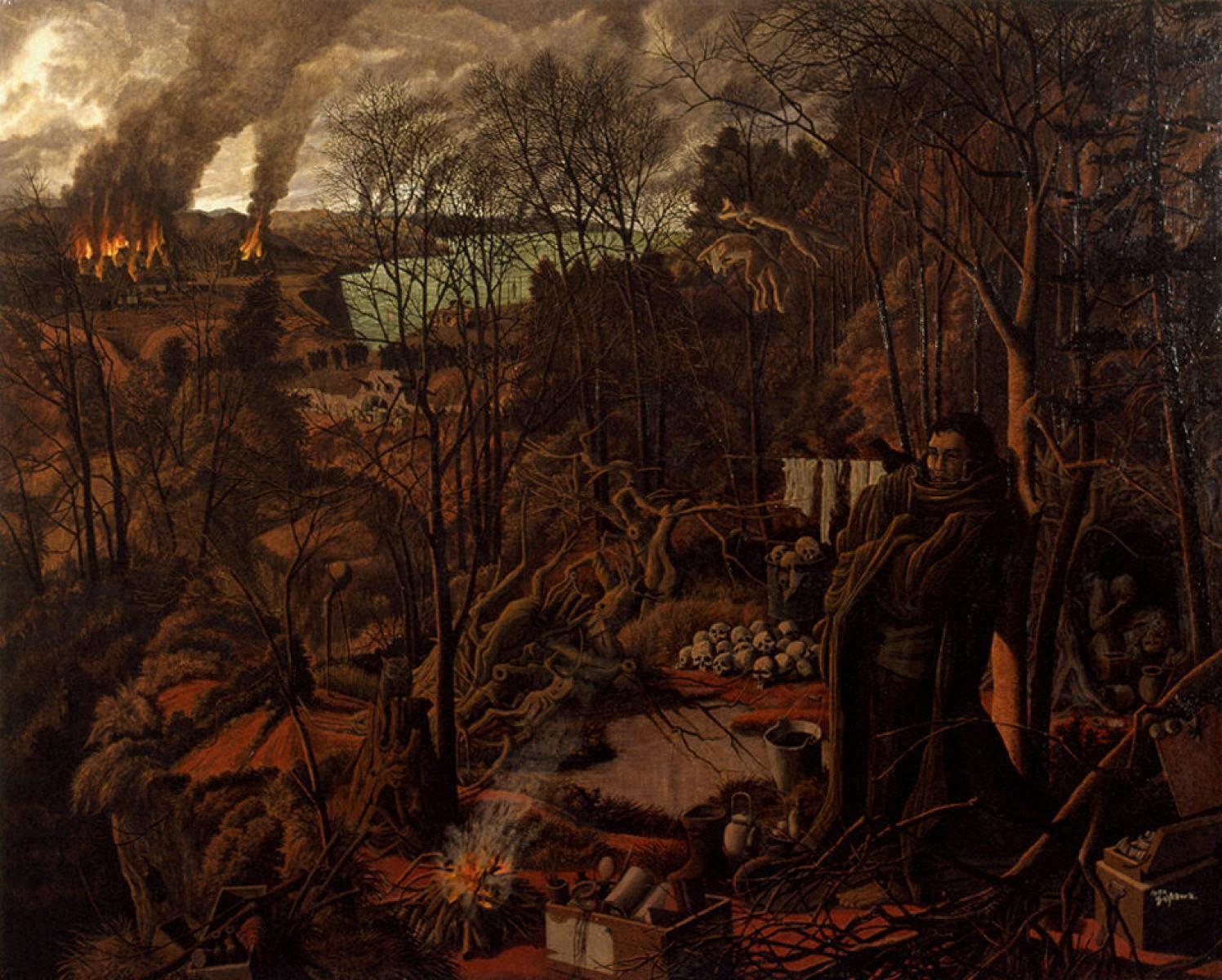1944年病める森