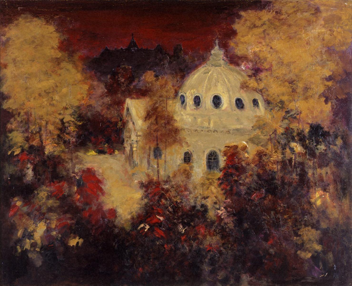 晩秋のトラピスト修道院