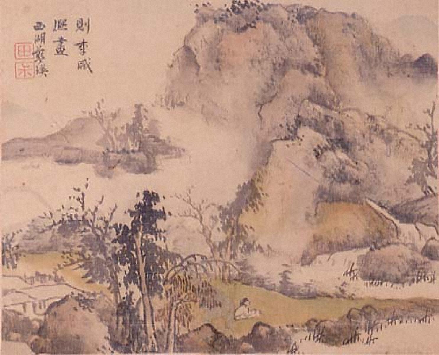 山水図(3)