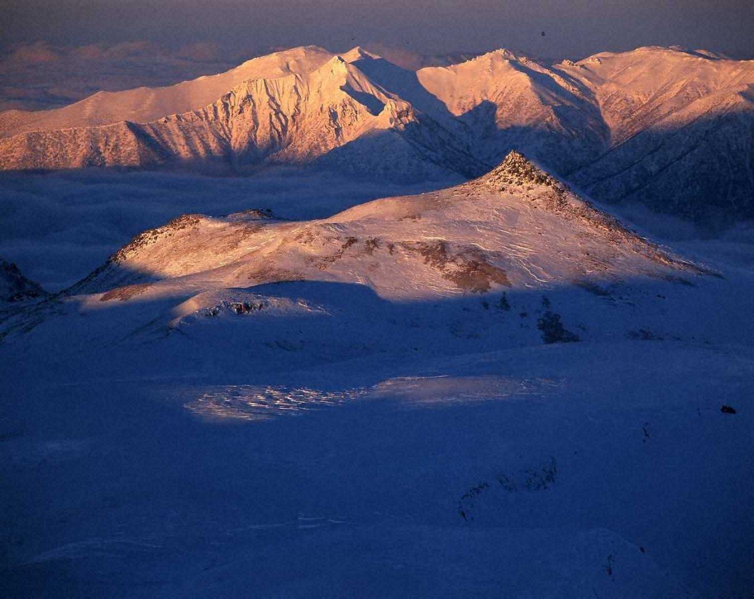 厳冬の大雪山
