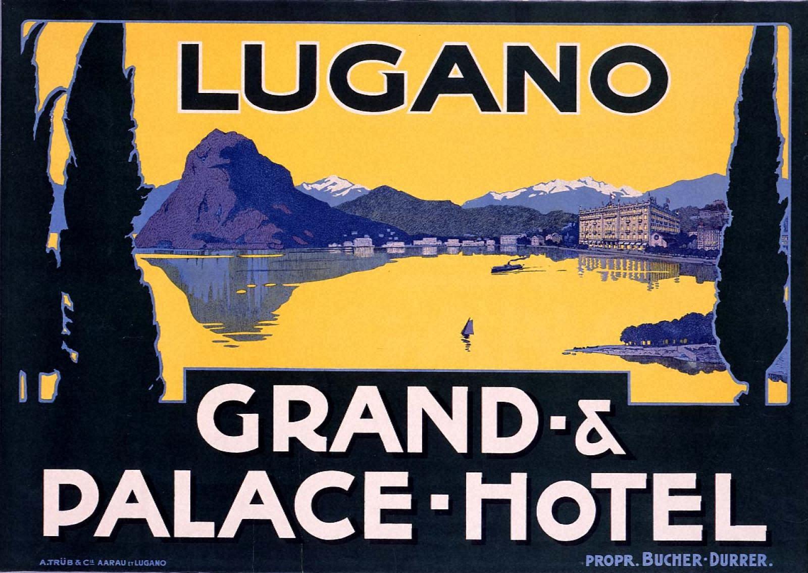 ルガノ、グランド・パレス・ホテル