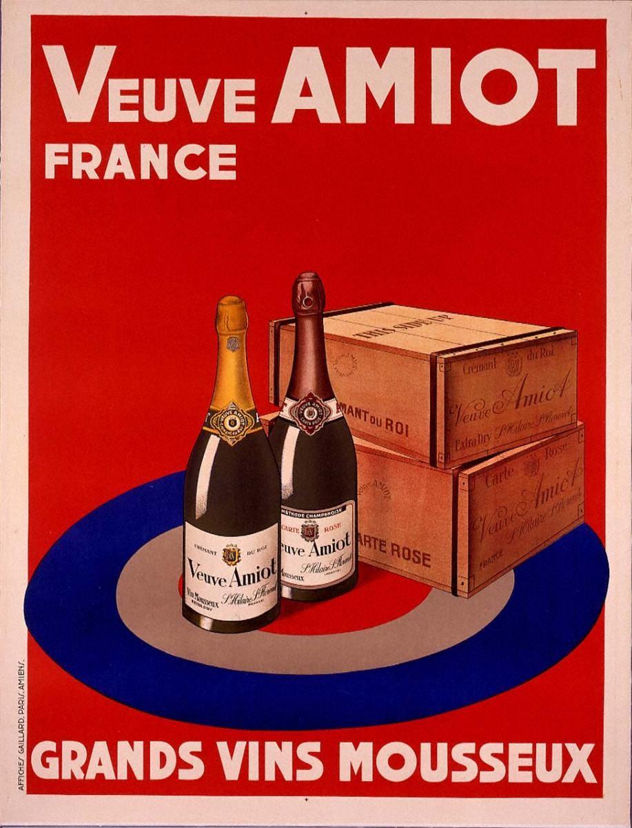 発泡性ワイン「ヴーヴ・アミオ」