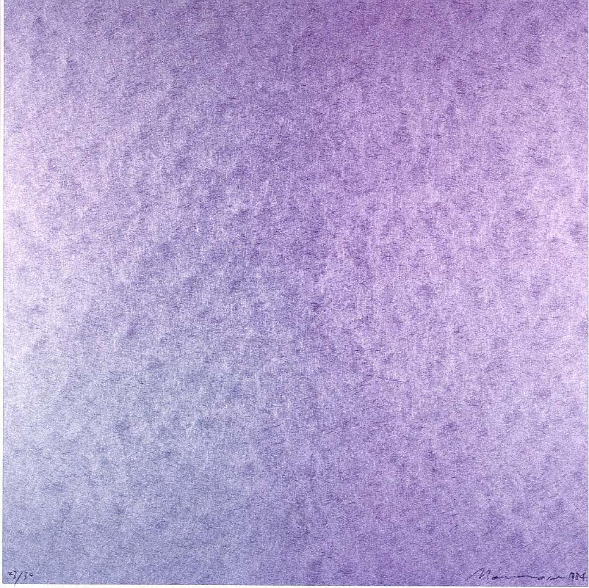 Square-Metallic Green and Violet