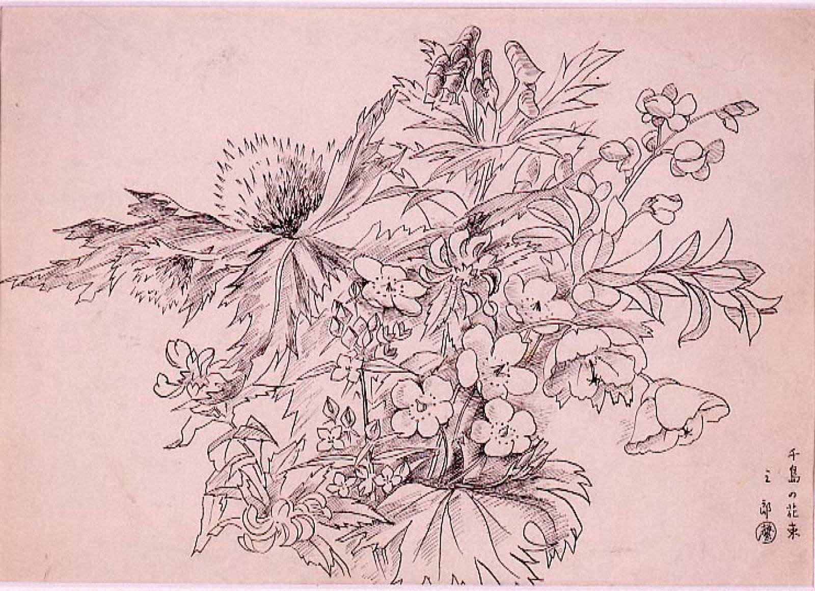 千島の花束