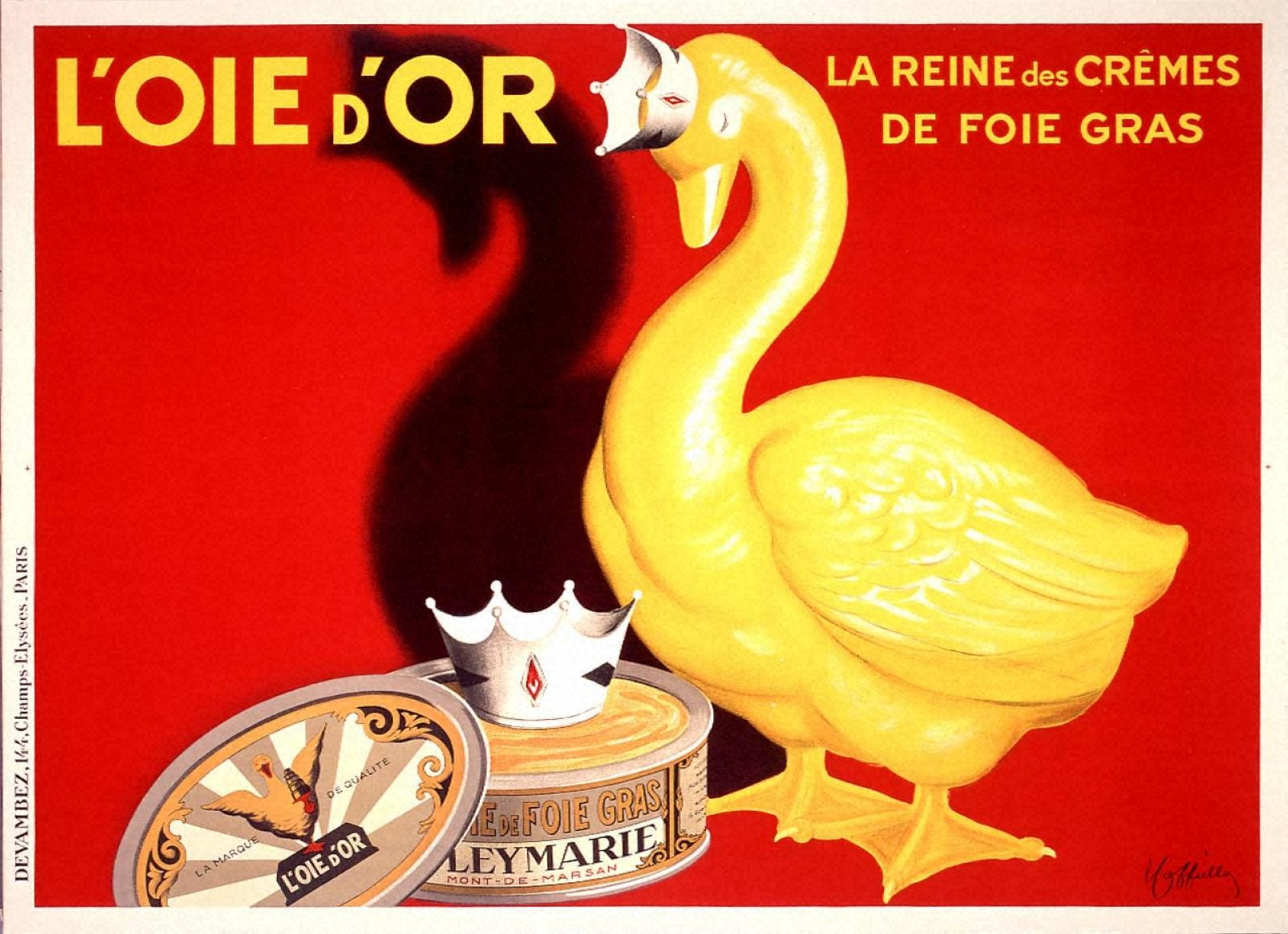 フォワグラ・クリームの女王「金の鵞鳥」