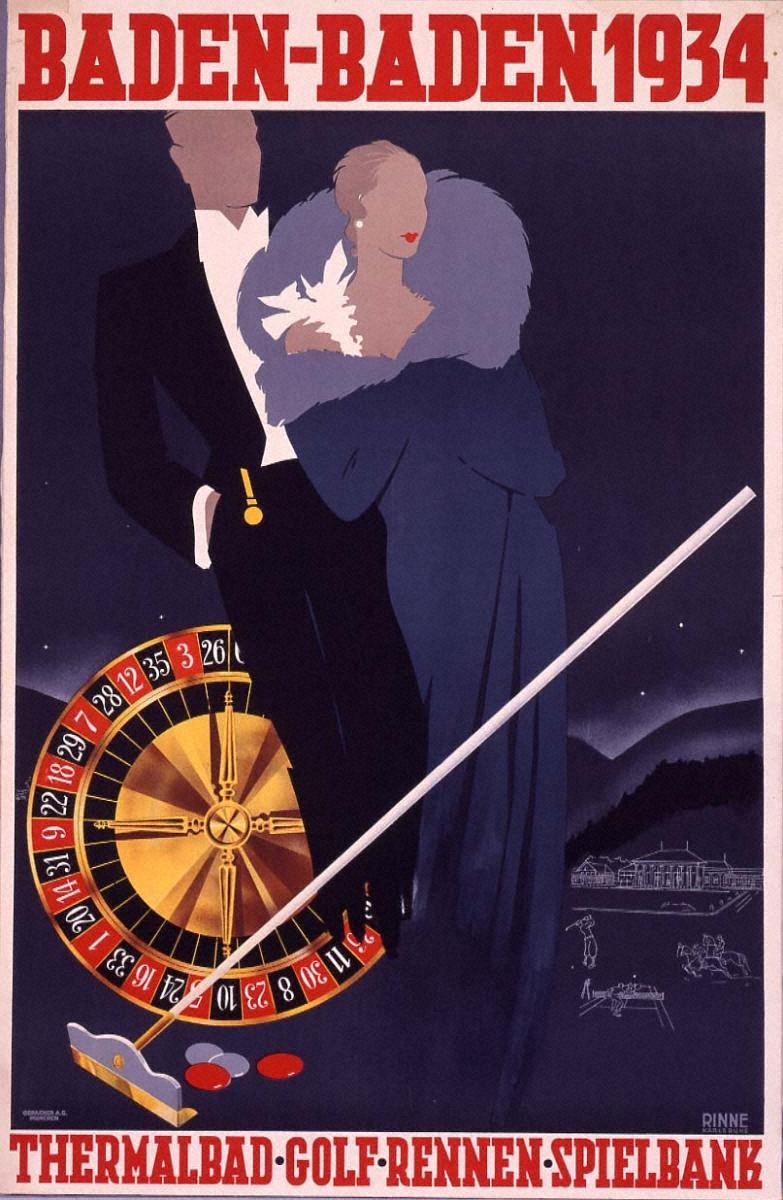 バーデン=バーデン、1934