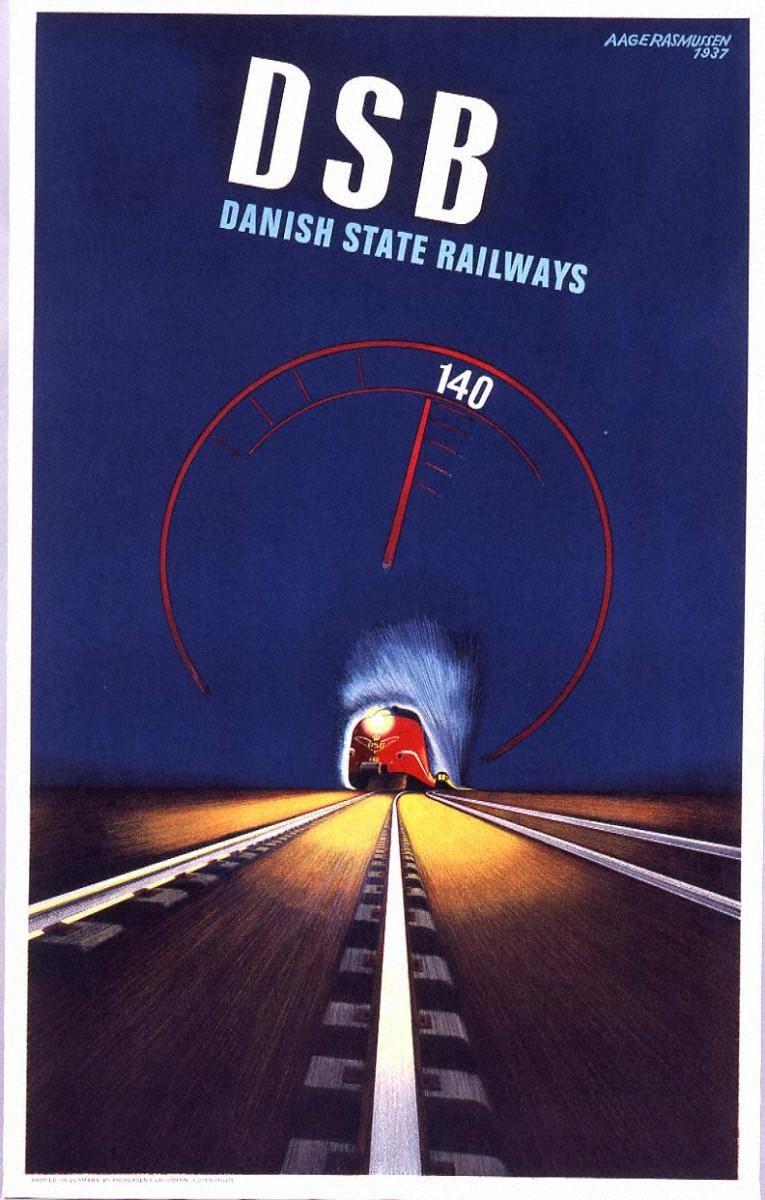 D.S.B., デンマーク国有鉄道