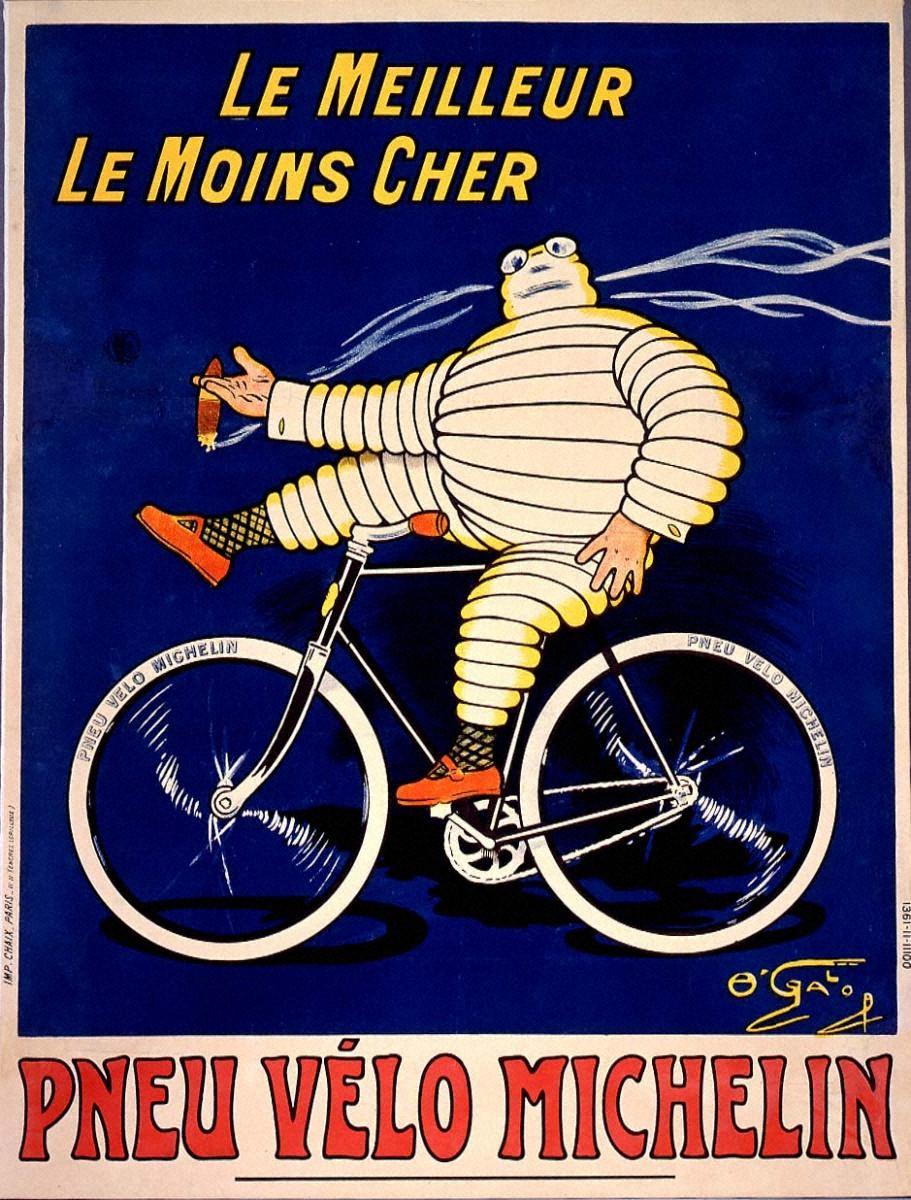自転車タイヤ「ミシュラン」