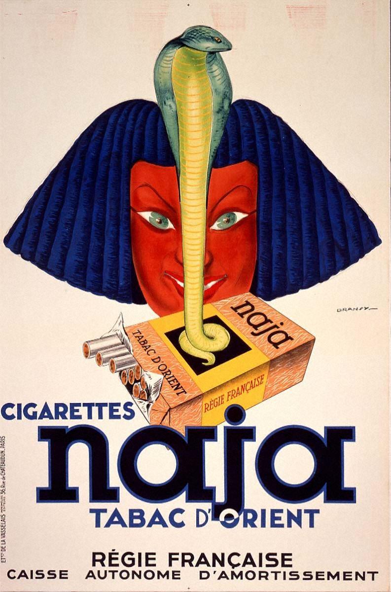 東洋のタバコ「ナジャ」