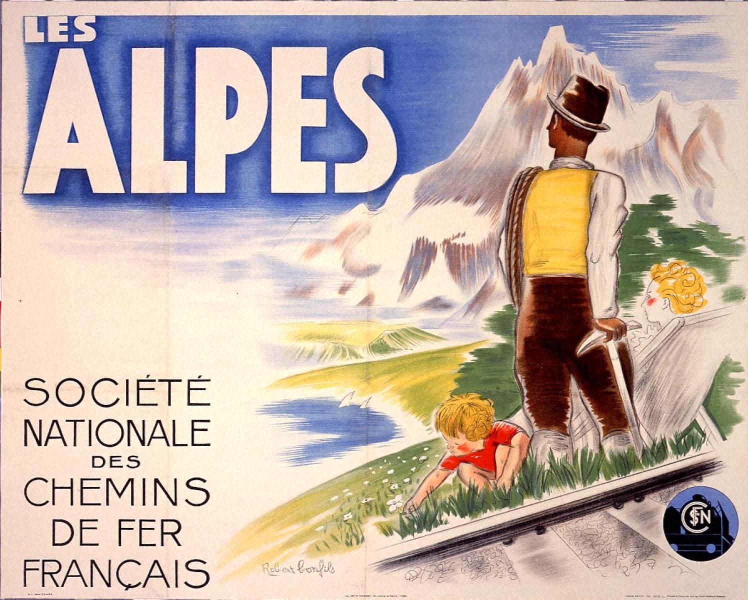 アルプス-フランス国有鉄道