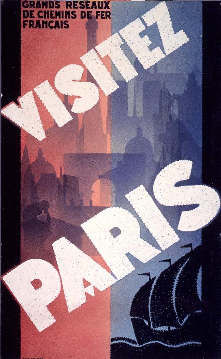 パリに行こう-フランス大鉄道網