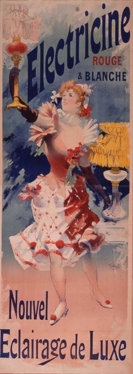 白熱灯「エレクトリシーヌ」-赤と白