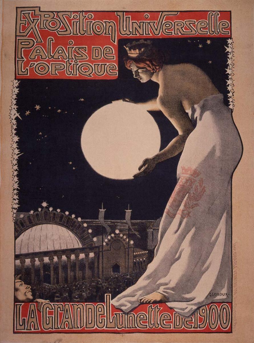 万国博覧会「光学館」-1900年の大望遠鏡