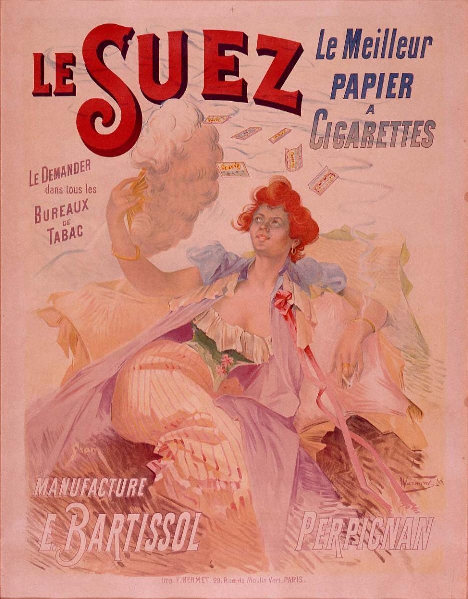 タバコ巻紙「スエズ」