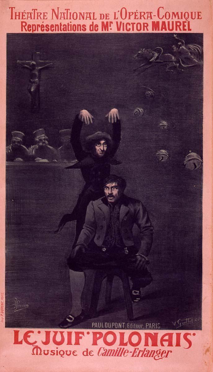 「ポーランドのユダヤ人」国立オペラ・コミック座