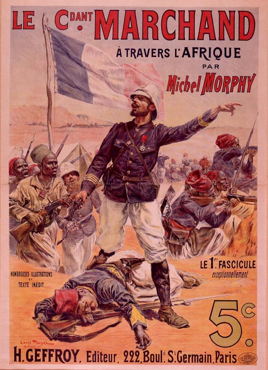ミシェル・モルフィ著「アフリカを横断するマルシャン将軍」
