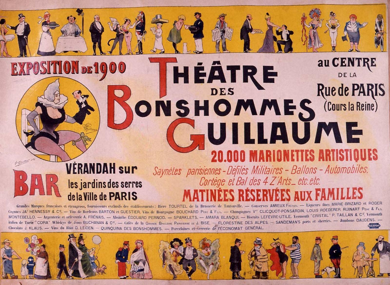ギョーム人形劇場-1900年パリ万国博覧会