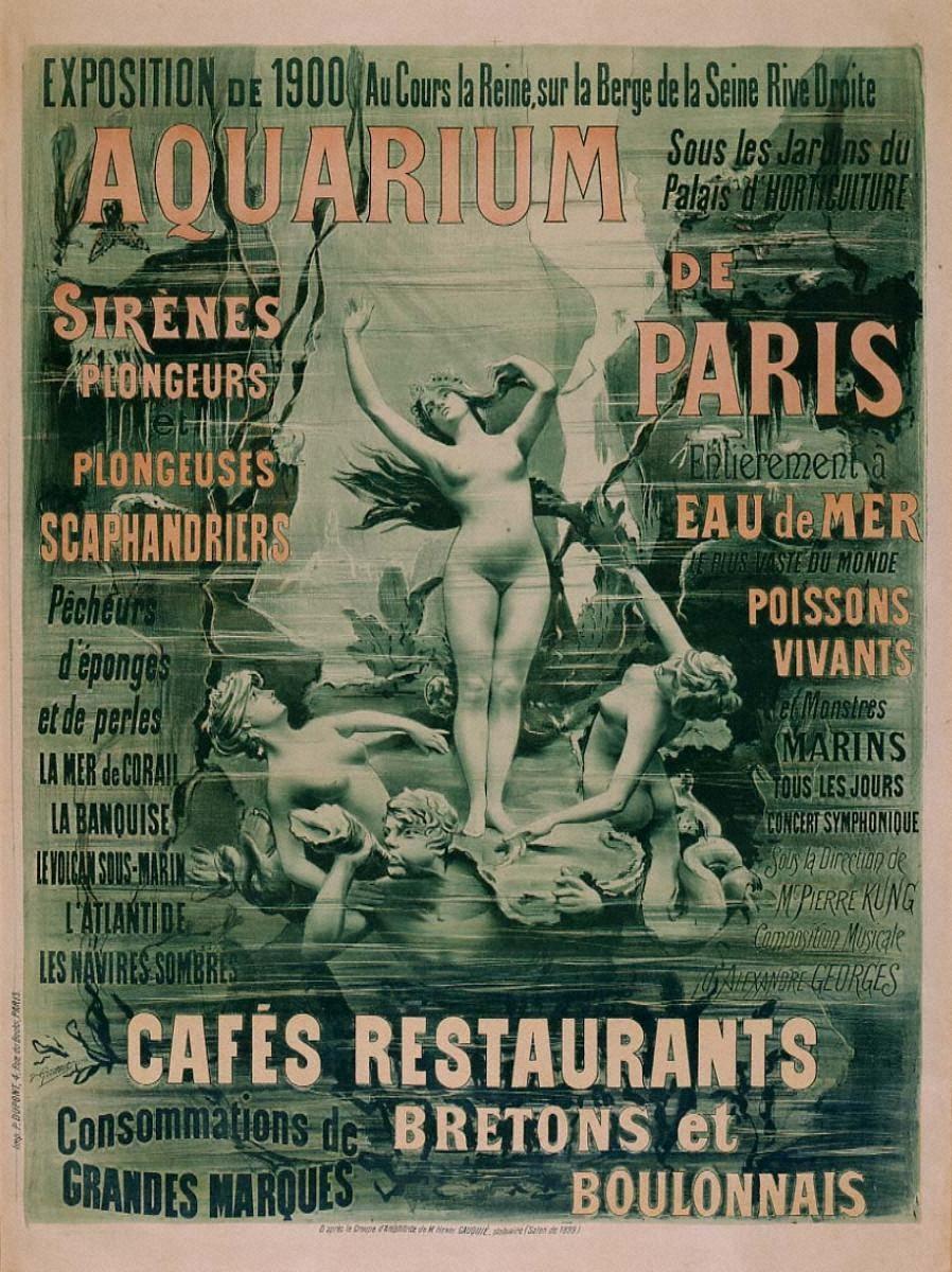 「パリ水族館」1900年万国博覧会