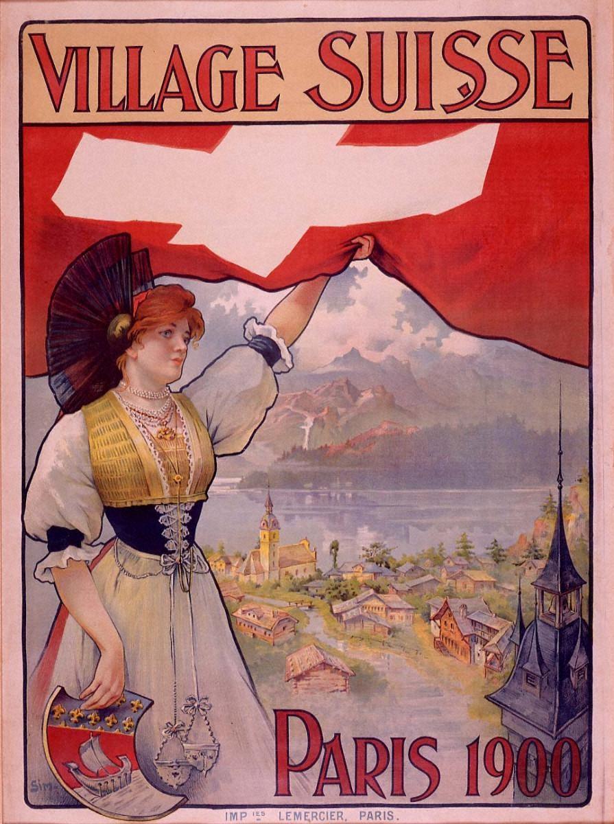 スイス村-1900年パリ万国博覧会
