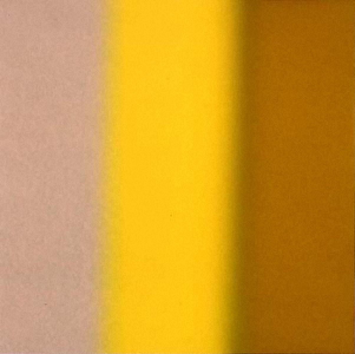 Square-Reverse Clear to Metallic Yellow
