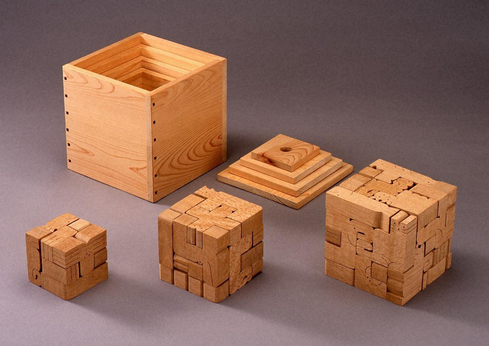 四つのアニマルキューブ