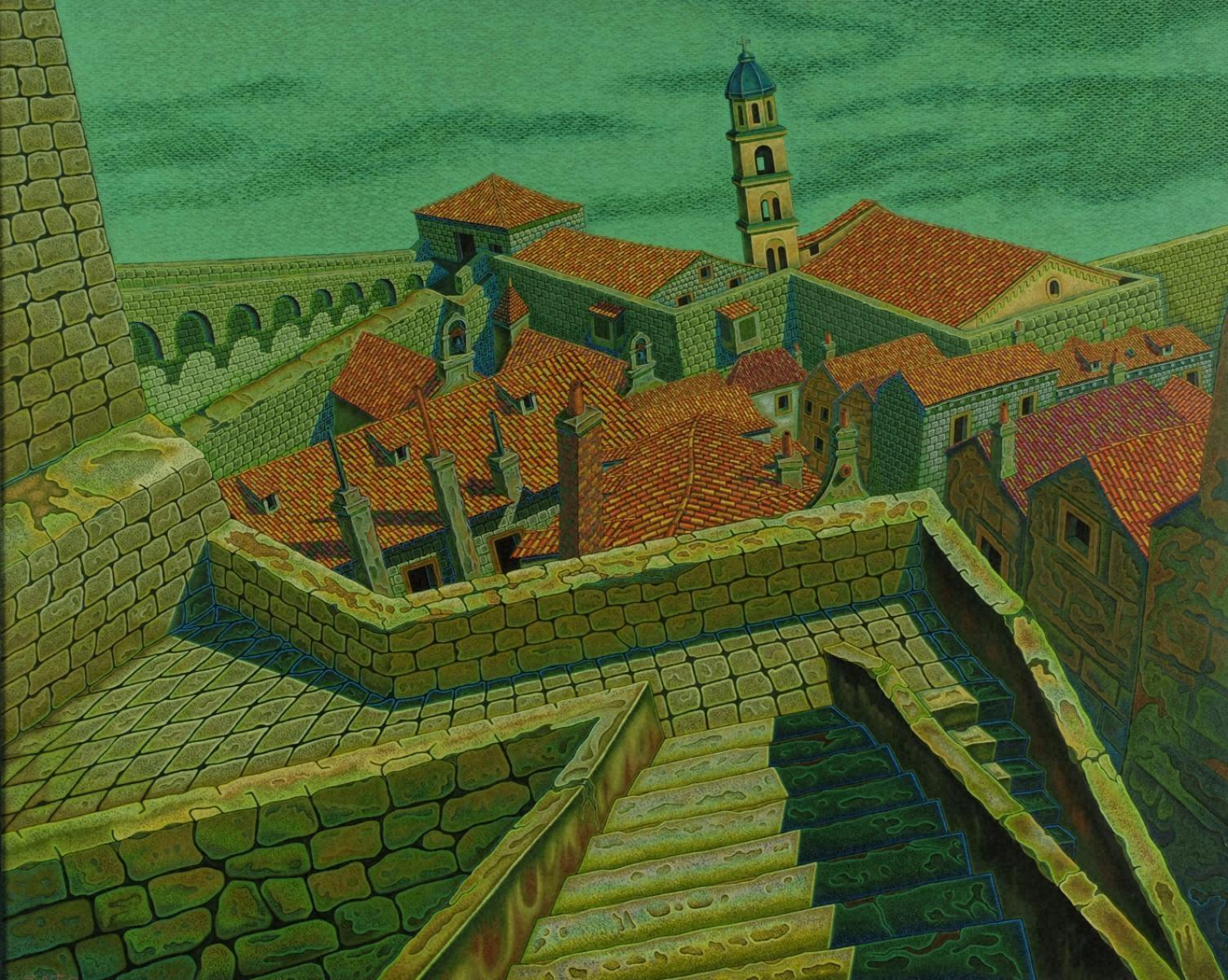 城壁(ドブロブニク)