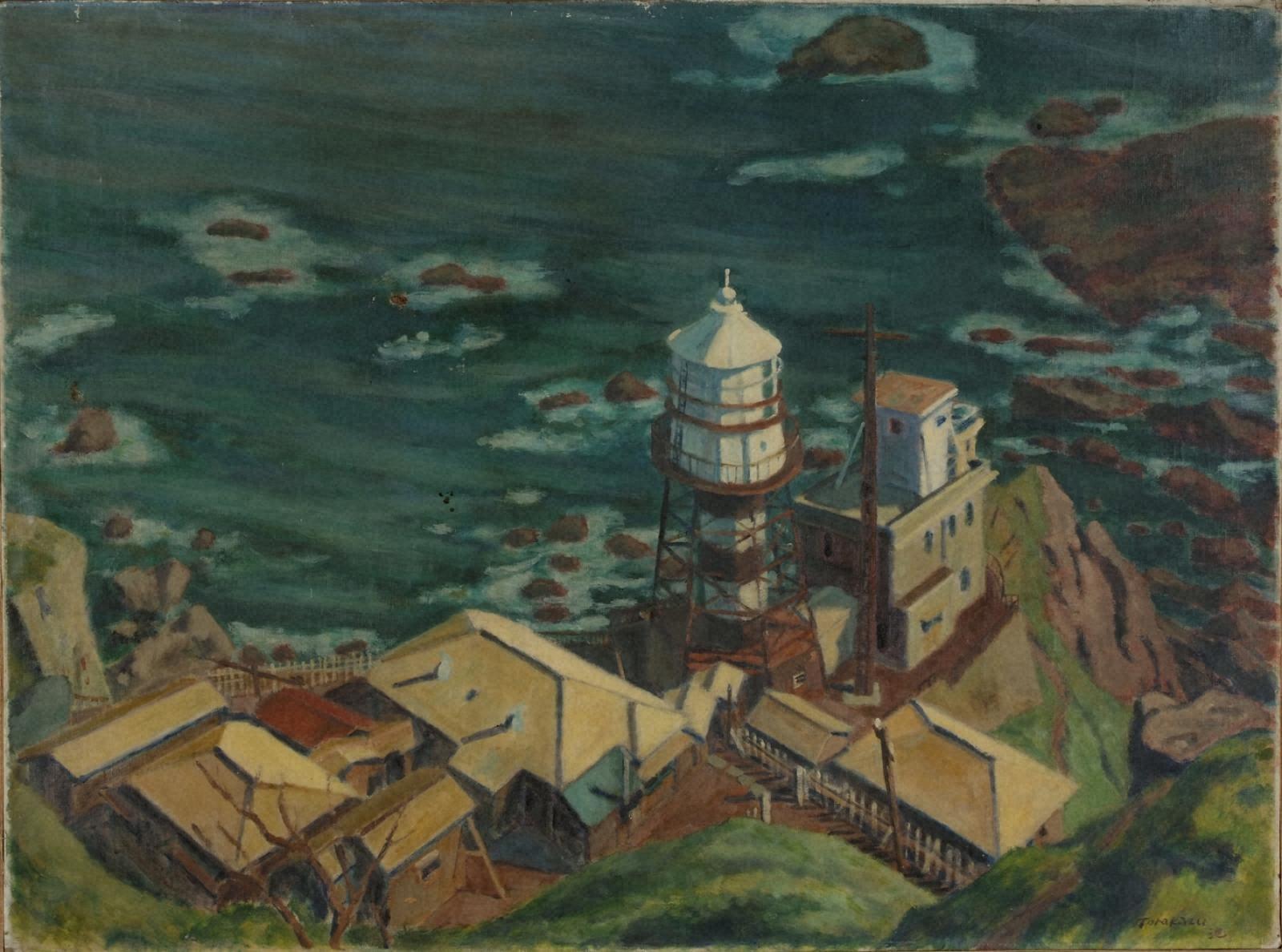 白神岬灯台
