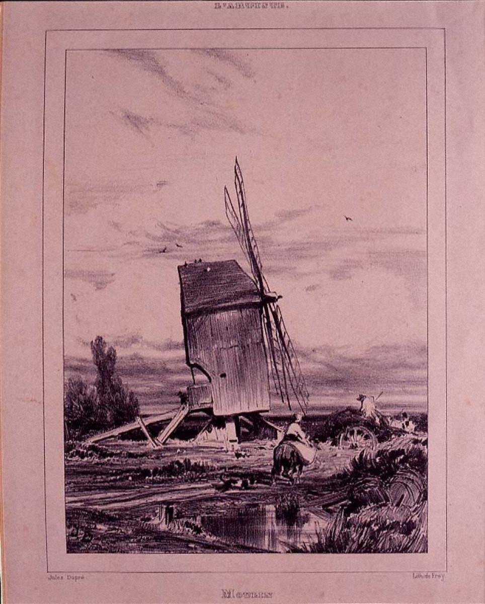 ソローニュの風車
