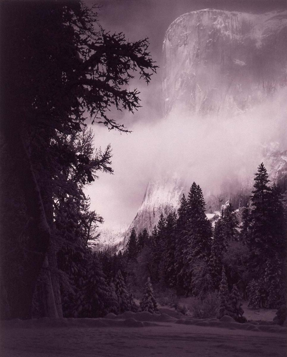 ポートフォリオⅦ: エル・キャピタン 冬の日の出