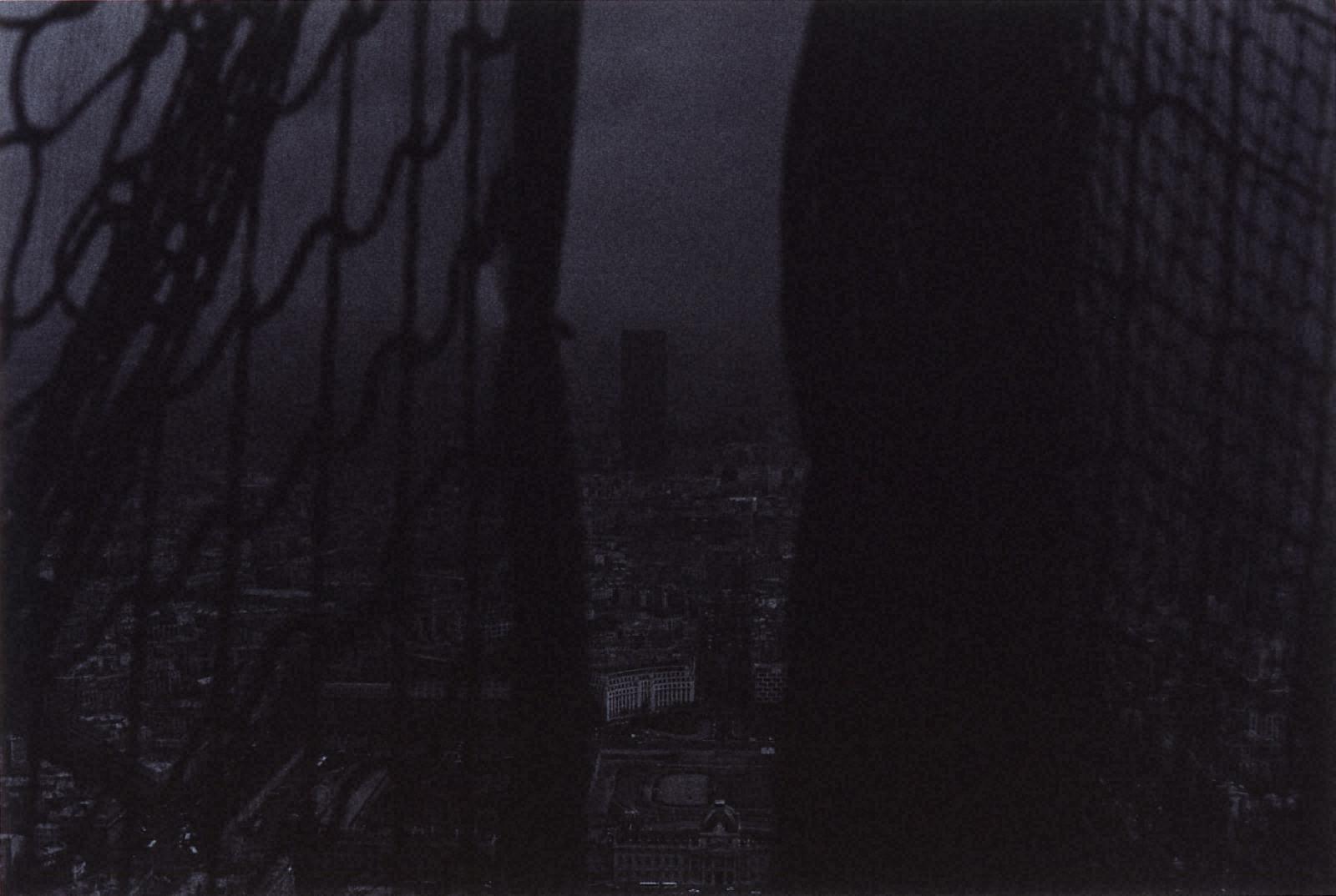 [Jun SHIRAOKA Photographs 1970-1998]フランス、パリ(エッフェル塔)、1993年4月1日