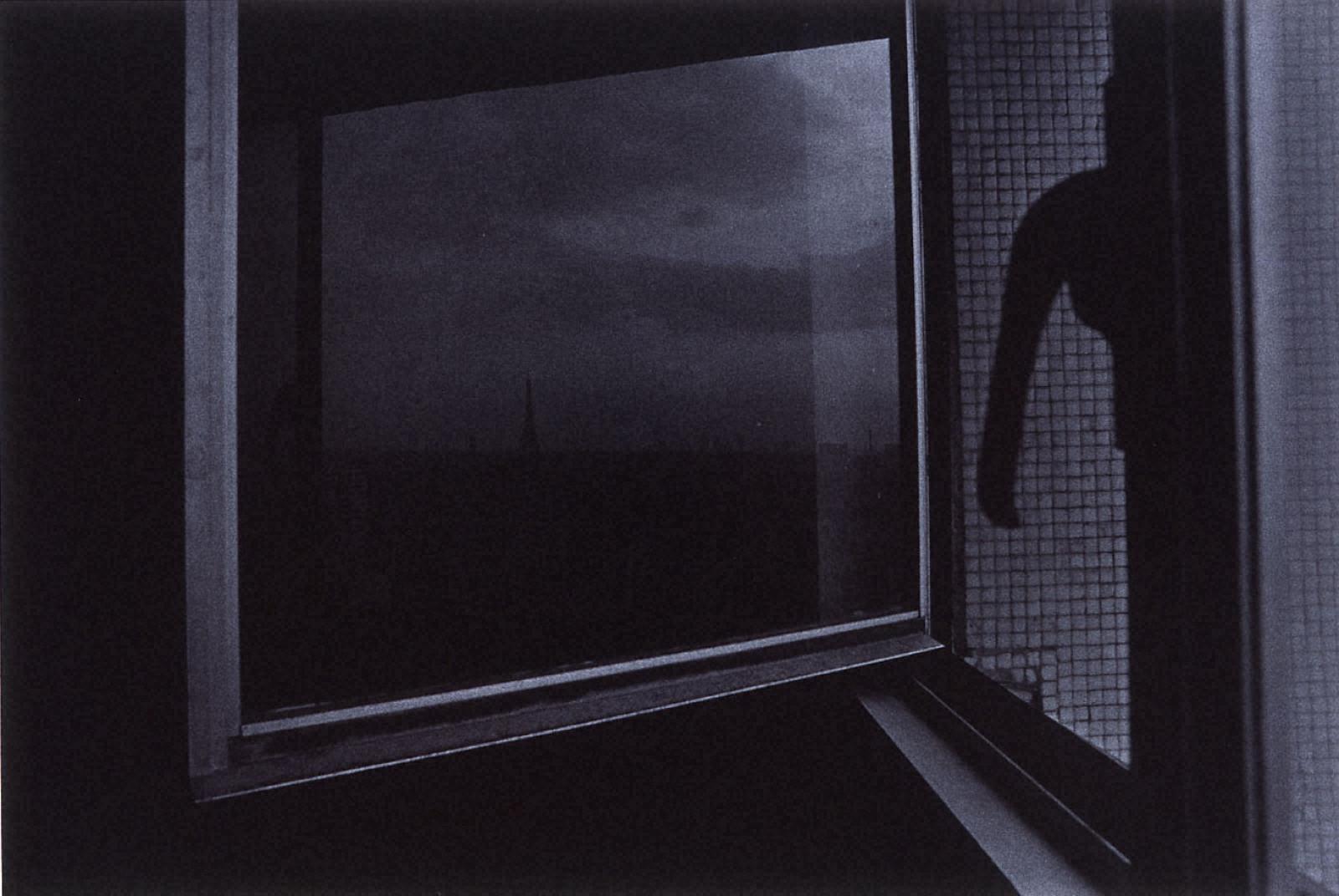 [Jun SHIRAOKA Photographs 1970-1998]フランス、パリ(ジュルジュ・ピタ-ル通り)、1980年8月